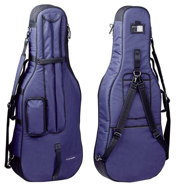 Gewa 1/2 Cellotasche 20mm Prestige blau