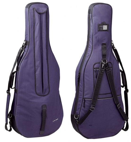 Gewa 1/4 Cellotasche 10mm Premium, blau ABVERKAUF