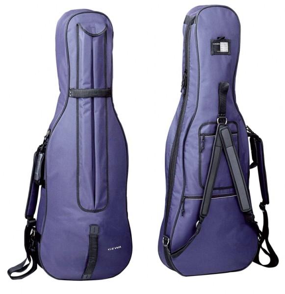 Gewa 1/8 Cellotasche 3mm Classic blau ABVERKAUF