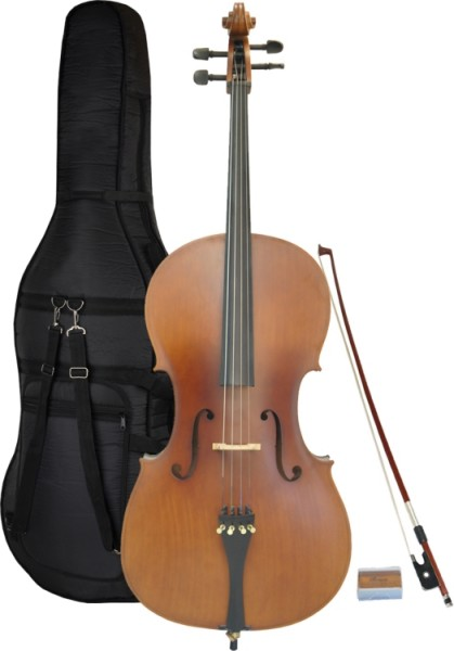 Steinbach 1/2 Cello im Set handgearbeitet und wunderschön satiniert