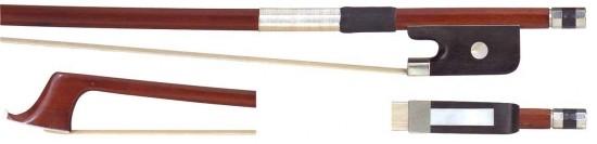 GEWA 4/4 Cellobogen aus Brasilholz, bessere Qualität, kantige Stange