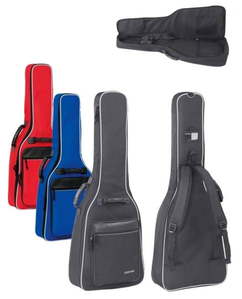 Gewa 1/8 bis 1/4 Gitarrentasche in blau für Konzertgitarre 12mm Economy 12 LINE