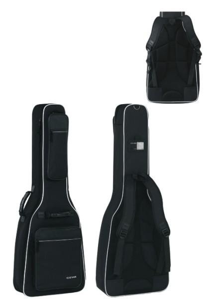 Gewa 4/4 Gitarrentasche in schwarz für Konzertgitarren 25mm Prestige 25 Line