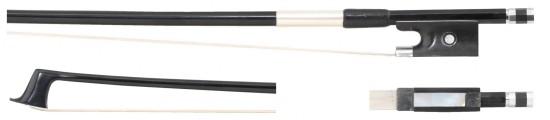 GEWA 4/4 Carbonbogen für Viola / Bratsche, gute Qualität, runde Stange