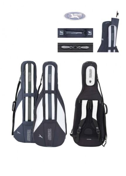 Jaeger 4/4 Cellotasche 30mm schwarz/anthrazit