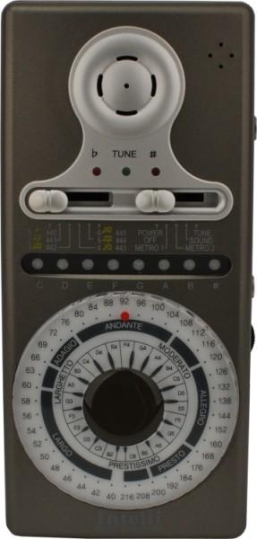 Intelli PDMT9 Automatisch chromatisches Stimmgerät und Metronom grau