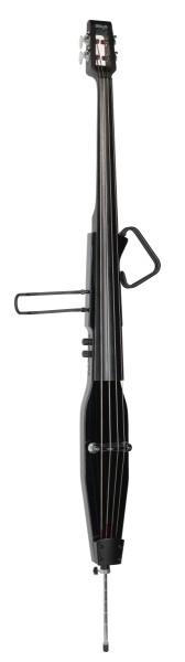 3/4 E-Kontrabass schwarz-metallic