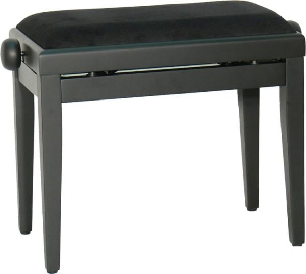 Steinbach 401 Klavierbank in schwarz matt