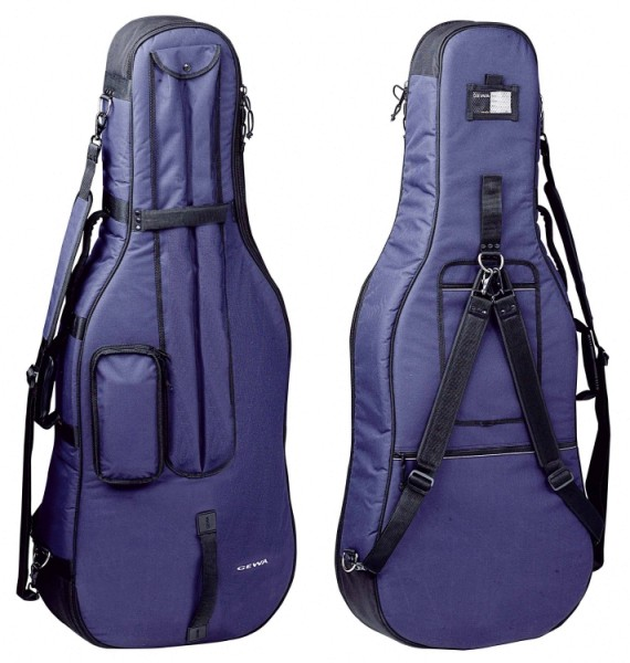 Gewa 4/4 Cellotasche 20mm Prestige, blau
