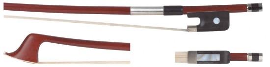 GEWA 1/4 Bassbogen Französisches Modell, Brasilholz, gute Qualität, runde Stange