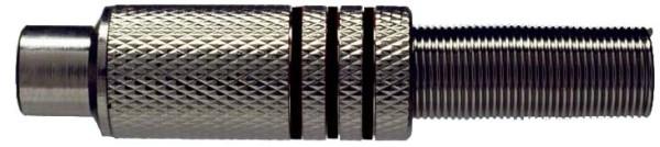 Stagg 0200-F-BLACK Weibliche Cinch-Stecker, Metall
