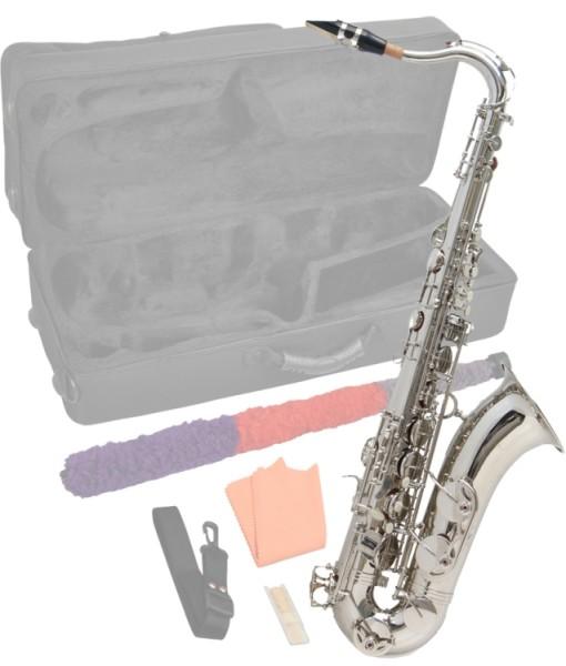 Steinbach Bb Tenorsaxophon Silber mit hohem FIS inkl. Koffer