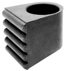 """Stagg 20K-HP 3 Stück Gummifüße für 1,5"""" Rohr"""