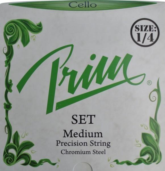Prim Steel Strings Saitensatz mit Kugel medium für 1/4 Cello
