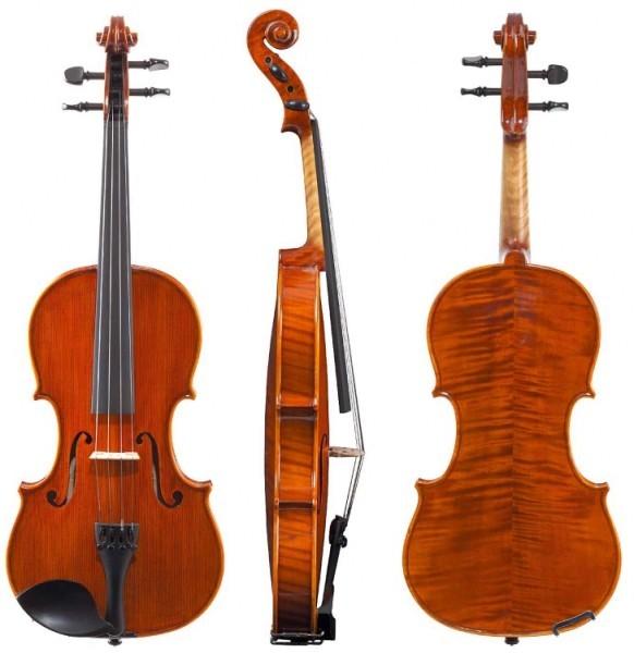 Gewa Geige Concerto 3/4 vollmassive Violine mit geflammten Boden von GEWA