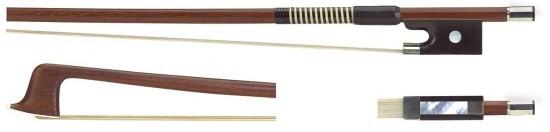 GEWA 4/4 Geigenbogen Brasilholz gute Qualität runde Stange
