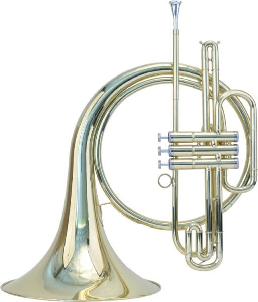 Steinbach B- Waldhorn 3 Perinet-Ventile im Koffer