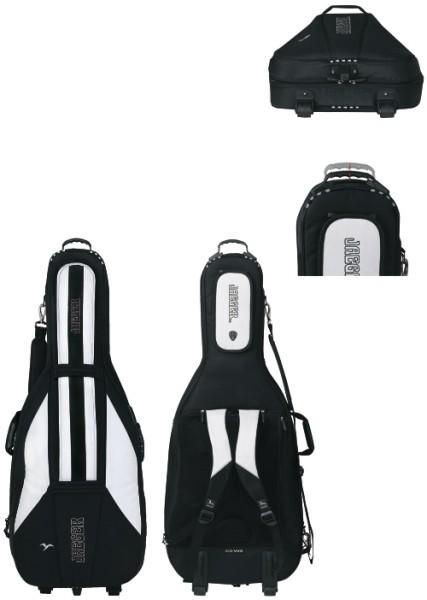 Jaeger 4/4 Cellotasche 30mm ROLLY schwarz/anthrazit