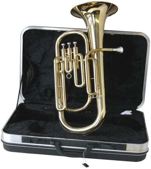 Steinbach Eb-Althorn Messing mit Perinet Ventilen im Koffer