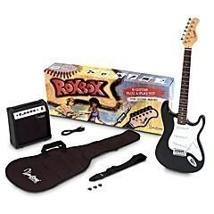 Westone 4/4 E-Gitarren Starter-Set mit ST-Gitarre XS5 in Ebony