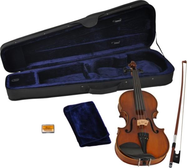 Steinbach 1/8 Geige im SET Ebenholzgarnitur