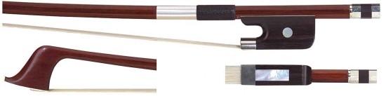 GEWA 1/2 Bassbogen Französisches Modell, Brasilholz, gute Qualität, kantige Stange