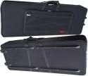 Stagg KTC-128 Leichter Keyboardkoffer 10mm mit Rollen und Griff (125 x 44 x 14 cm)