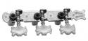 Stagg KG356 Ersatz-Maschinen Köpfe für Klassische Gitarren 6er Set