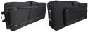 Stagg KTC-100 Leichter Keyboardkoffer 10mm mit Rollen und Griff (97 x 38 x 15 cm)