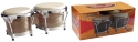 Stagg BW-300-N 7,5 Zoll + 8,5 Zoll Latin Deluxe Bongos Holzkessel