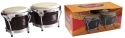 Stagg BW-300-CH 7,5 Zoll + 8,5 Zoll Latin Deluxe Bongos Holzkessel