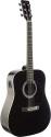 Stagg SW201BK-VT Elektroakustische Dreadnought Gitarre