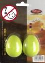 Stagg EGG-2 GR Schütteleier Paar Kunststoff grün