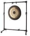 Stagg GOS-1538 Vielseitiges einstellbares Gongstativ auf Rädern für alle Gongs
