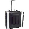 Stagg ABS-6U/T ABS Case mit Rollen für 6 HE Rack