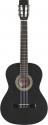Stagg C542 BK 4/4 Klassik-Gitarre in schwarz mit Lindendecke