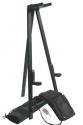 Stagg SG-AW50 BK Holz Stativ für Akustik-Gitarre, mit Höhenverstellung