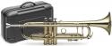 Stagg 77-TCB B-Trompete mit Edelstahl-Ventilen in Messing im ABS-Koffer