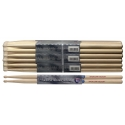 Stagg SH5A American Hickory Drumsticks Holz Tip / 5A / Preis für 1 Paar