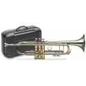 Stagg 77-T HG NI B-Trompete Pro, im ABS-Koffer