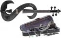 Stagg EVN 4/4 MBK 4/4 Silent Violinen Set