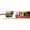 Stagg MTT-S Kleine Multi-Trommel aus Holz mit Griff u. Schlegel
