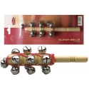 Stagg SLBM-13T Jingle-Stick mit 13 Schellen Schlittenglocken