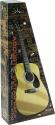 Stagg SW201 3/4N P2 3/4 Akustik-Gitarren Pack + Zubehör u. Einsteiger-Gitarrenunterricht CD