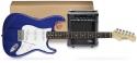 Funtime E-Gitarre + Verstärker Pack, Farbe: blau