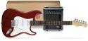 Funtime E-Gitarre + Verstärker Pack, Farbe: rot