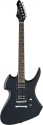 Stagg H400-BK Heavy H E-Gitarre in schwarz