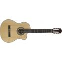Stagg C848CBB S-N Elektroakustische Klassikgitarre mit cutaway u. A3.2 B-Band EQ 4-band
