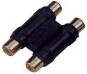 Stagg AC-2CF2CFH Audio Adapter - Doppel Phono W / Doppel Phono W = Cinch