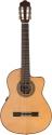 Stagg C1448CBB-S 4/4 Elektro-Akustik Klassikgitarre mit massiver A-klasse Fichtendecke u. A3.2